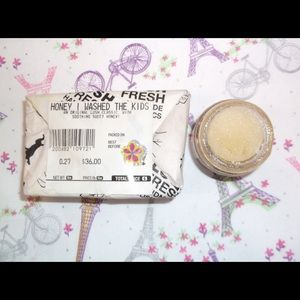 LUSH Honey Lip Scrub/Honey I Washed the Kids Soap